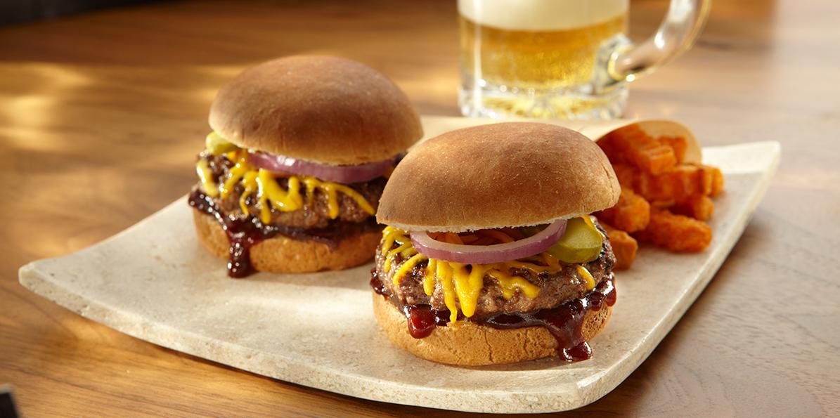 BBQ Beef Sliders | Sargento