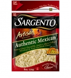 Sargento® Artisan Blends® Shredded Authentic Mexican Cheese