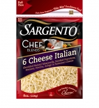 Sargento® Chef Blends® Shredded 6 Cheese Italian