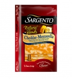 Sargento® Natural Blends® Sliced Cheddar-Mozzarella Cheese