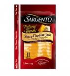 Sargento® Natural Blends® Sliced Sharp Cheddar-Jack Cheese