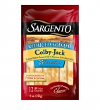 Sargento® Natural Reduced Sodium Colby-Jack Cheese Snacks