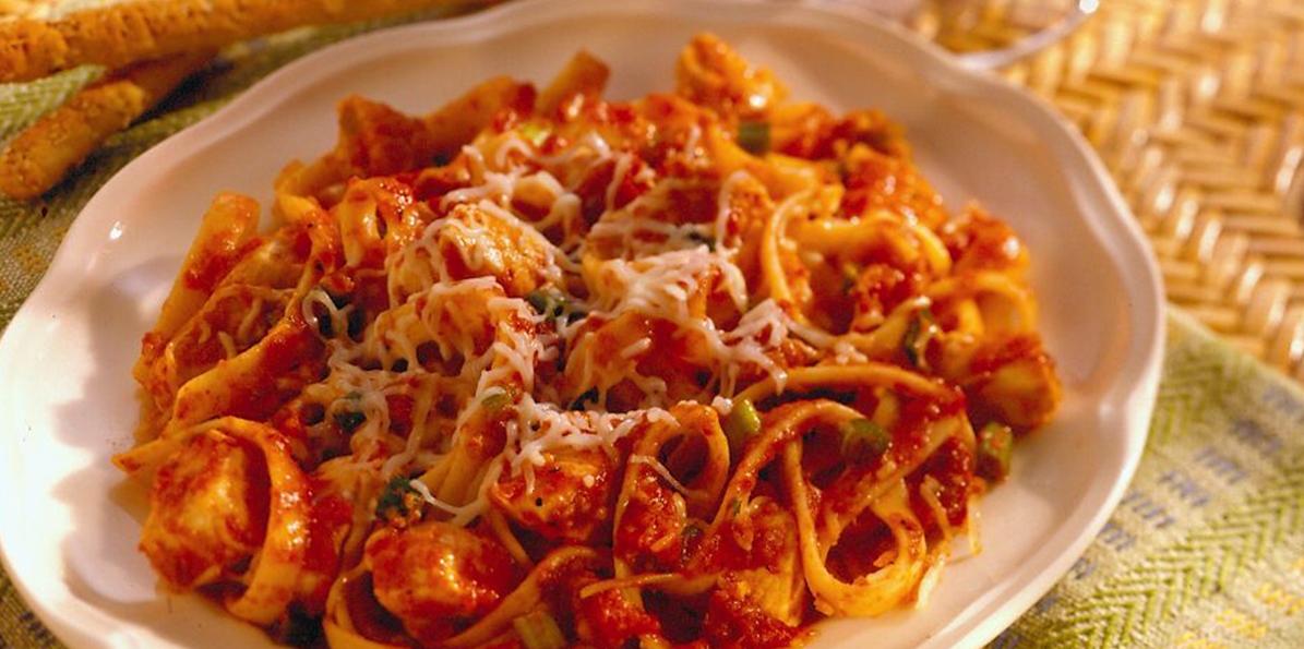 Sargento Recipes - Cajun Chicken Pasta
